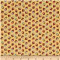 M for Mystery Tossed Flowers Beige/Multi