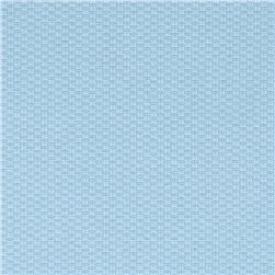 Cotton Pique Baby Blue Fabric