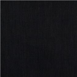 European Linen Stretch Black