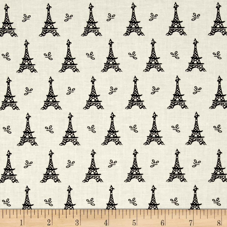 Mary Fons Small Wonders France Eiffel Tower Cream