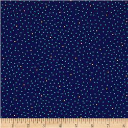 Imperial Paisley Dots Navy