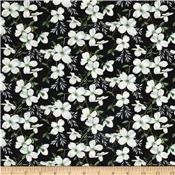 Dogwood Lane Medium Dogwood Flower Black