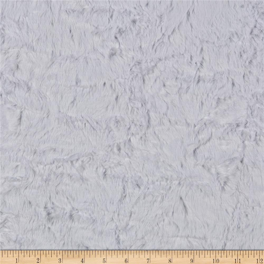 Shannon Minky Luxe Cuddle Marble Snow