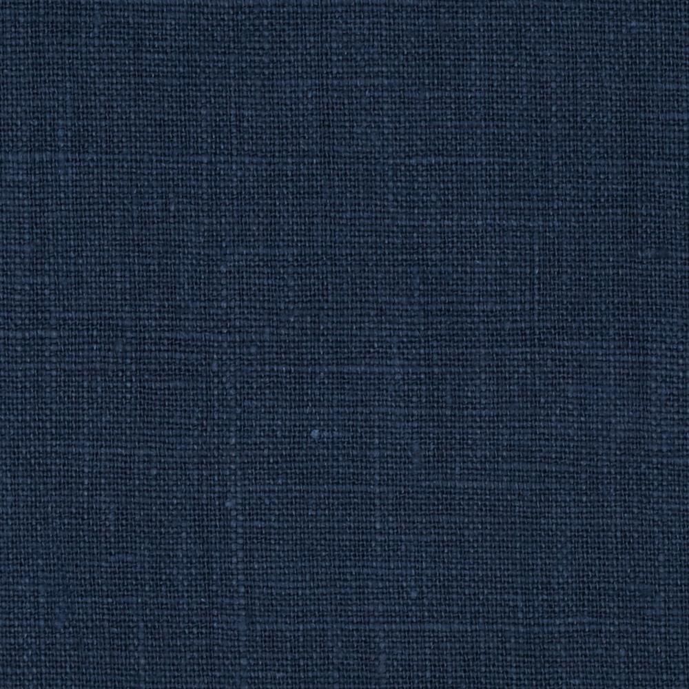 European 100% Washed Linen Navy
