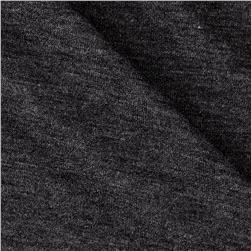Polyester Jersey Knit Solid Smoke Gray