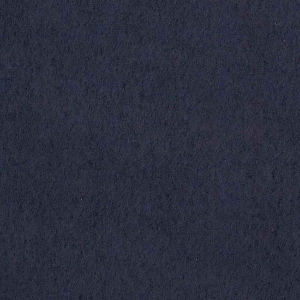 Warm Winter Fleece Solid Navy Fabric