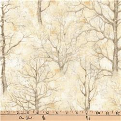 Kaufman Sound Of The Woods Metallic Trees Natural