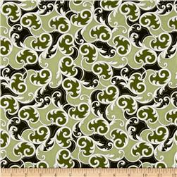 Kanvas Southern Charm Leaf Scroll Sage