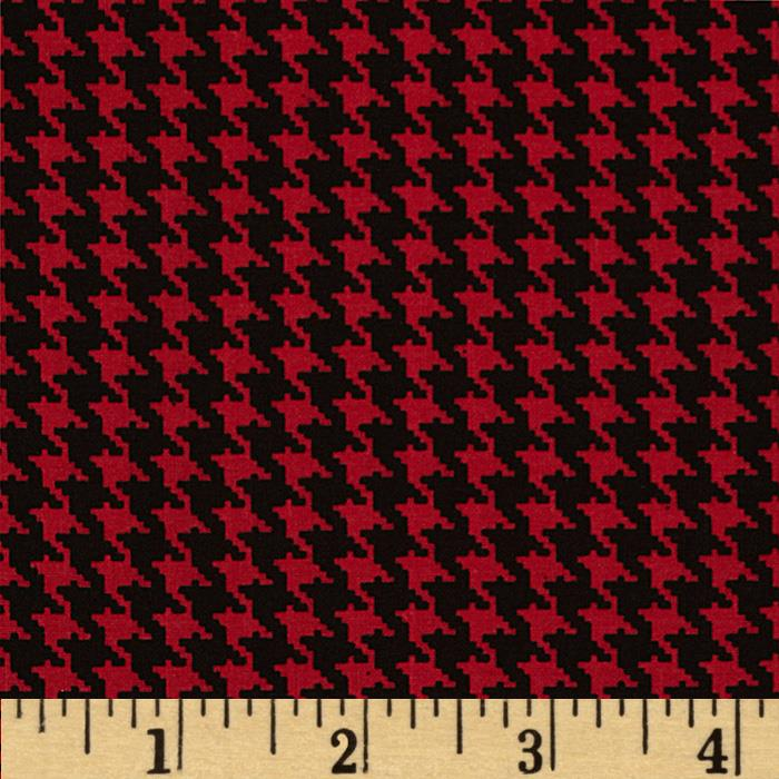 Spotlight Houndstooth Red/Black