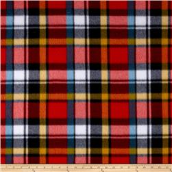 Fleece Plaid Print Multi