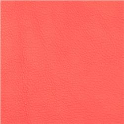 Regal Flannel Backed Vinyl Pecos Coral Fabric