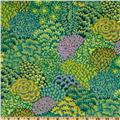 Kaffe Fassett Fall 2012 Collective Oriental Trees Green