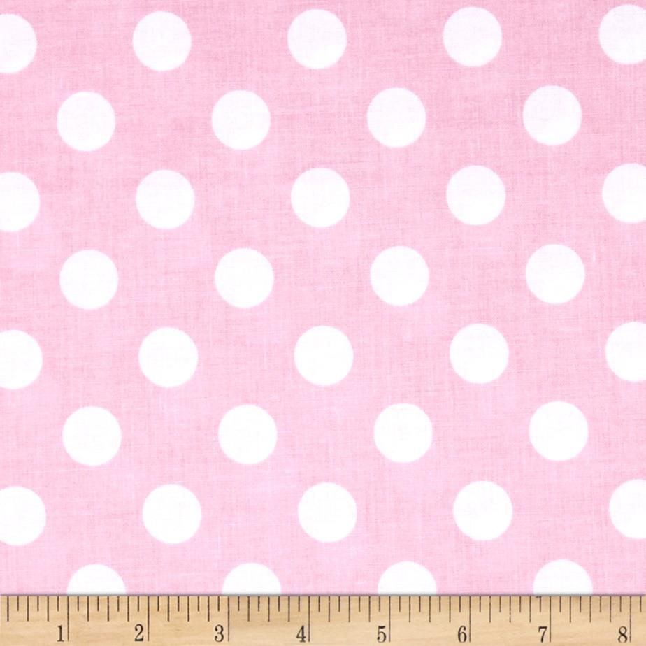 Riley blake medium dots baby pink discount designer for Cheap baby fabric