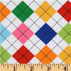 Remix Argyle Bright Fabric