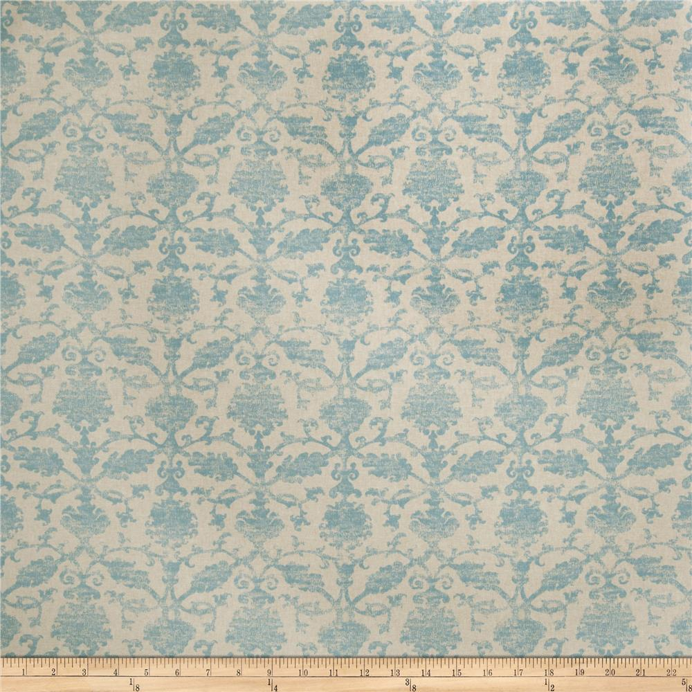 Fabricut In The Wind Linen Blend Turquoise