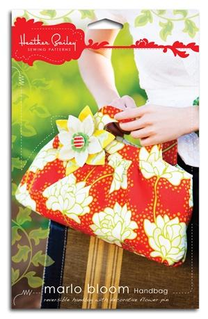 Heather Bailey's Marlo Bloom Handbag Pattern