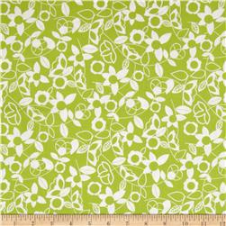 Modern Mixers Floral Lime