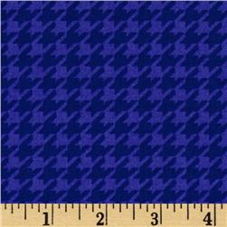 Ace Houndstooth Blue