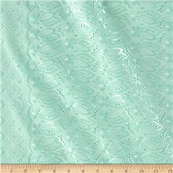Fancy Eyelet Mint