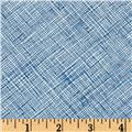 Architextures Grid Plaid Blue