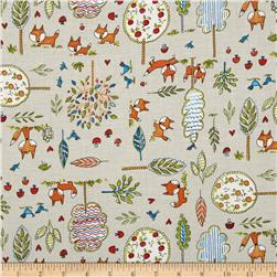 Fox Playground Fox Playground Grey Fabric