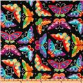 Laurel Burch Flying Colors II Butterfly Black