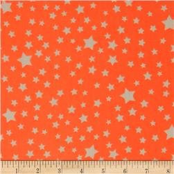 Yoryu Chiffon Stars White/Neon Orange