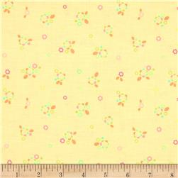 Riley Blake Sweet Home Petals Yellow Fabric