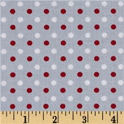 Fan-Tastic Dot Gray/Red