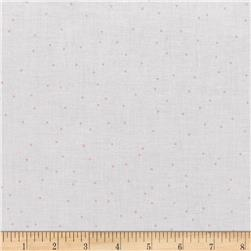 Riley Blake Sew Cherry 2 Pin Dot Pink