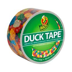 "Patterned Duck Tape 1.88"" x 10yd-Gummy Bears"
