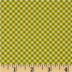 Moda Windermere Prints Gingham Clover