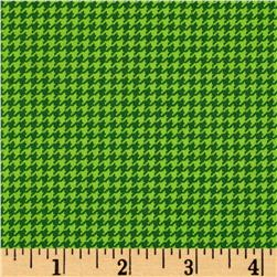 Are We There Yet Houndstooth Green