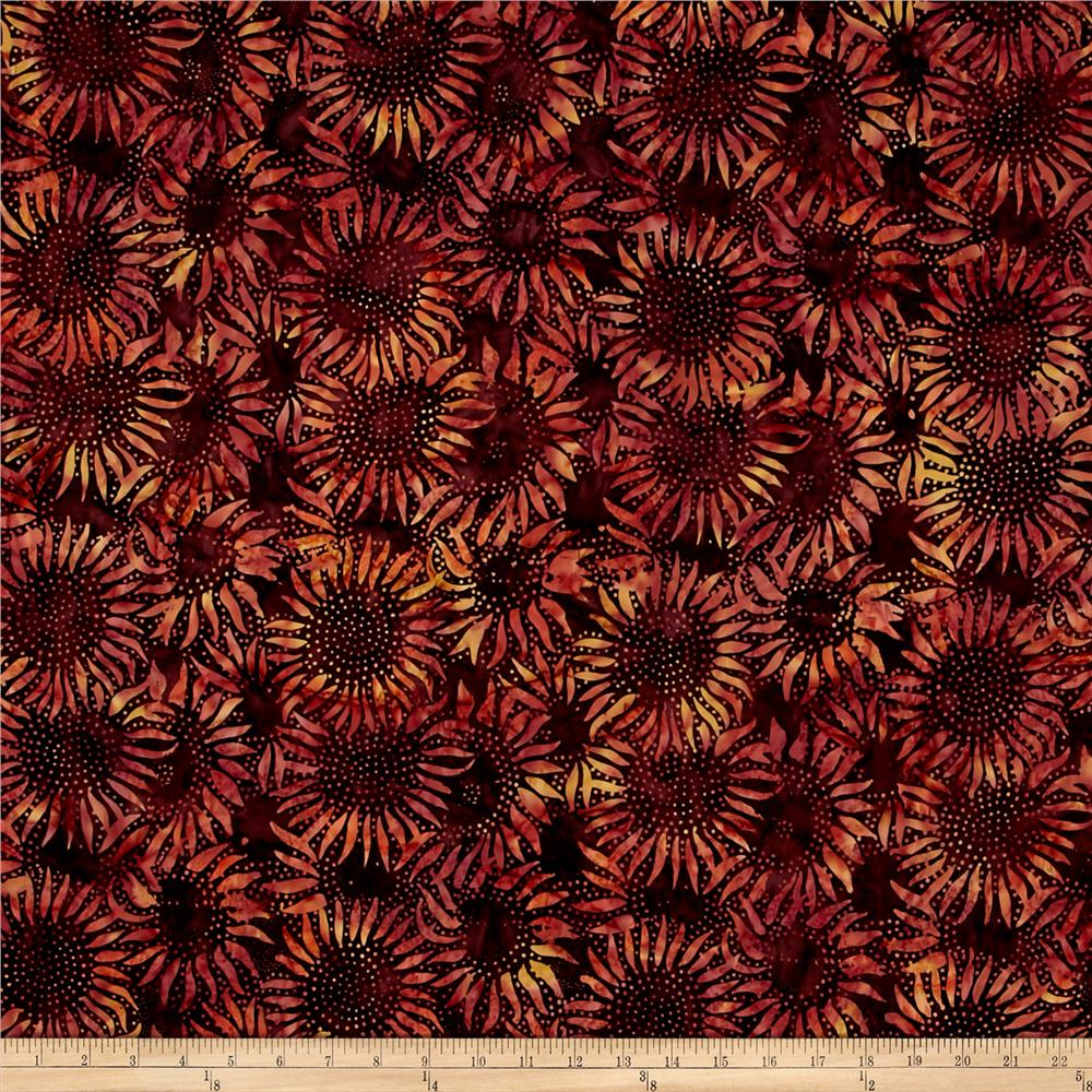 Bali Batiks Handpaints Sunflower Nightshade