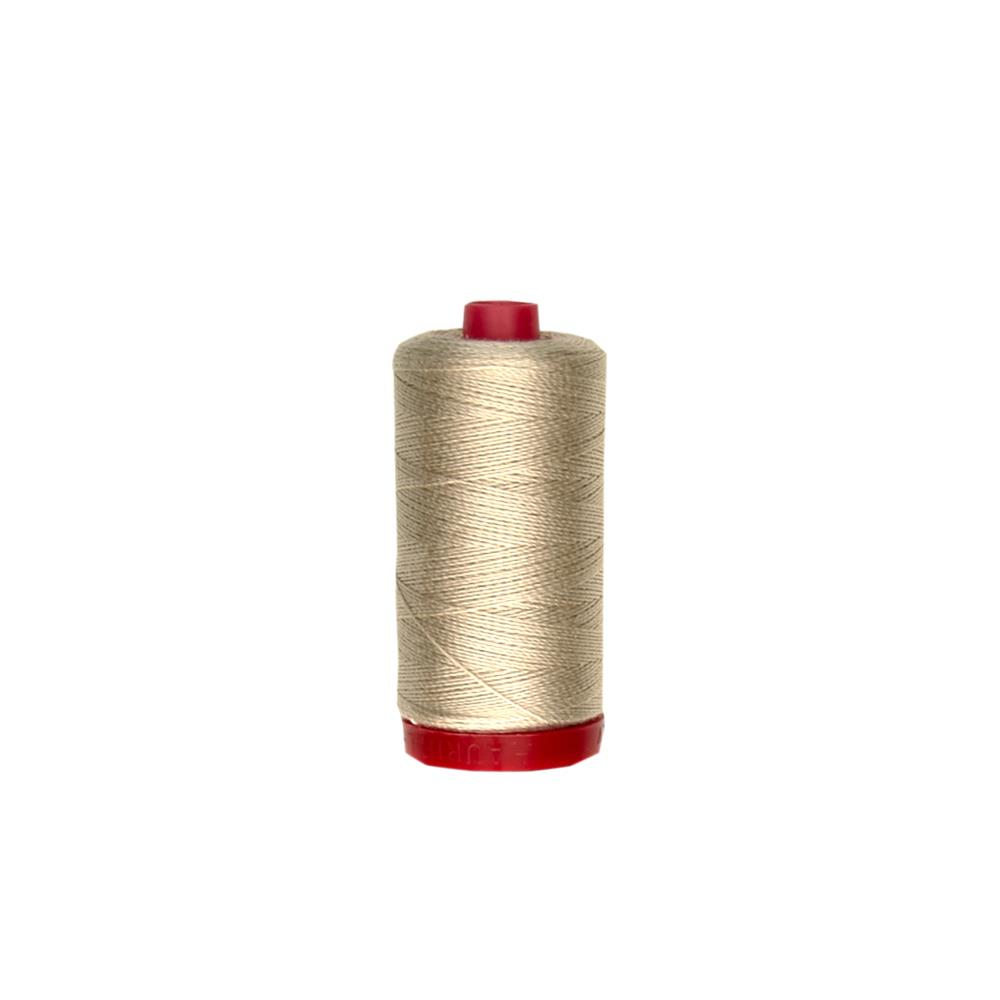 Aurifil 12wt Embellishment and Sashiko Dreams Thread Ermine