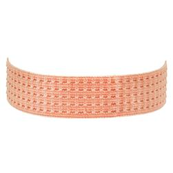 1-3/8'' Stretch Perforated Headbands Coral