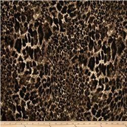 Sweater Knit Cheetah Black/Brown/Beige