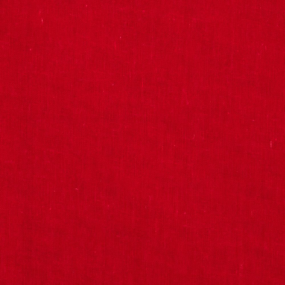 Linen/Cotton Voile Red