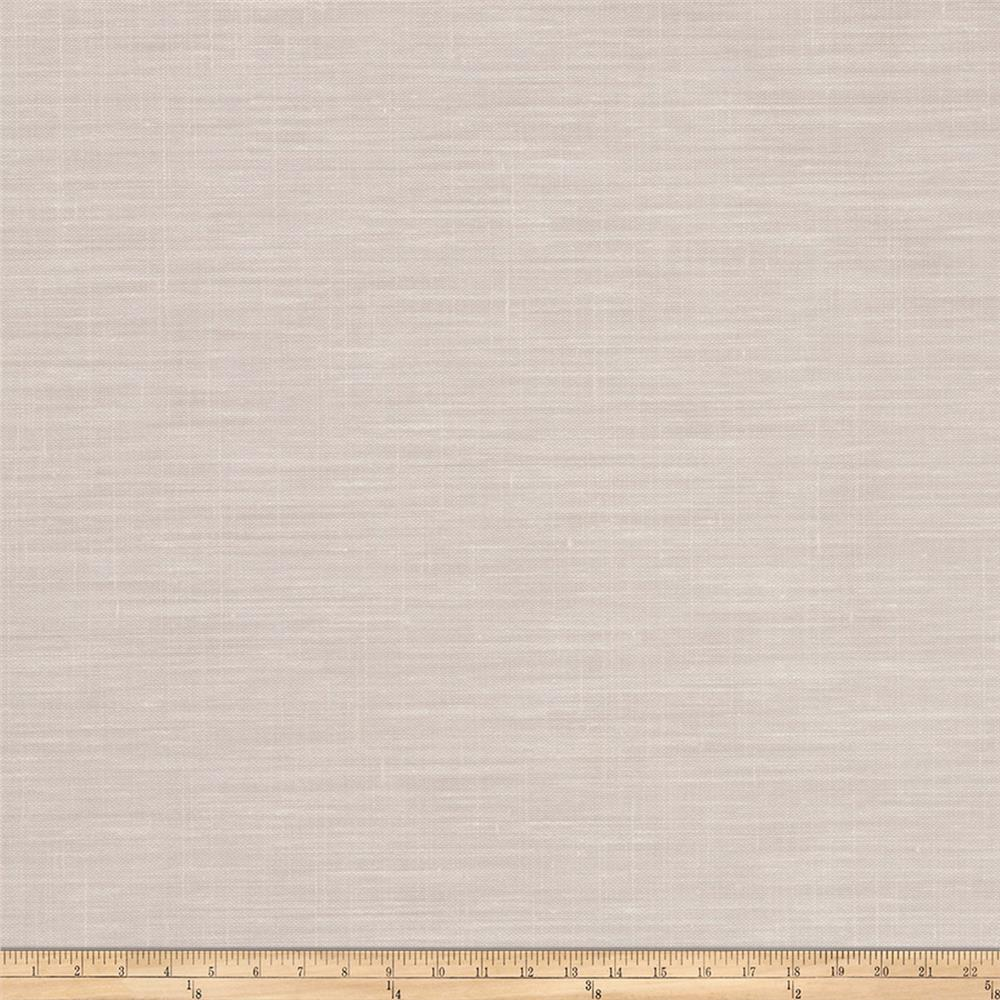 "Fabricut Blanche 127"" Sheer Linen Blend Chrome"