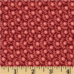 Birds of a Feather Packed Floral Red