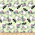 Rosy Sheep Flannel Mint