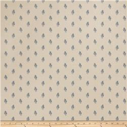Fabricut Faustine Wallpaper Bleu (Double Roll)