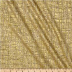 Timeless Treasures Metallic Zephyr Crosshatch Dune