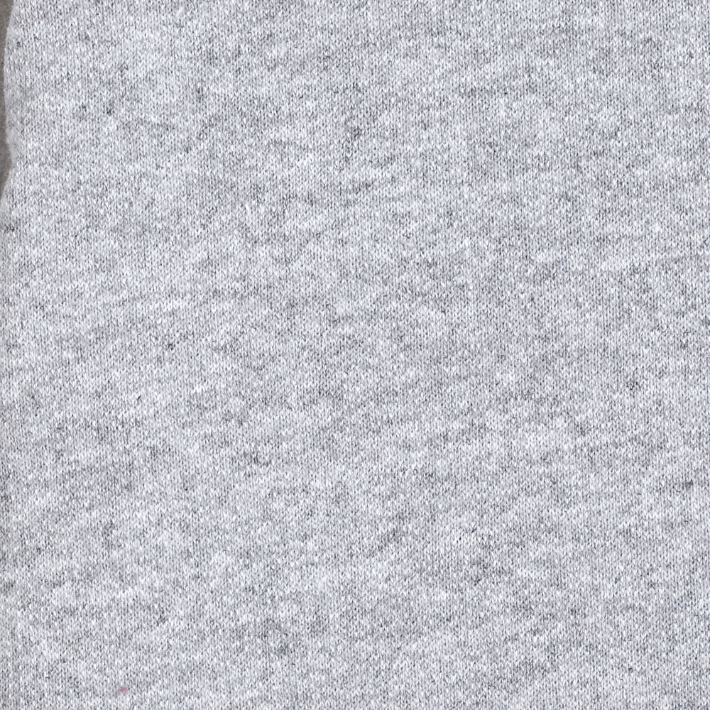 Designer French Terry Knit Grey Fabric