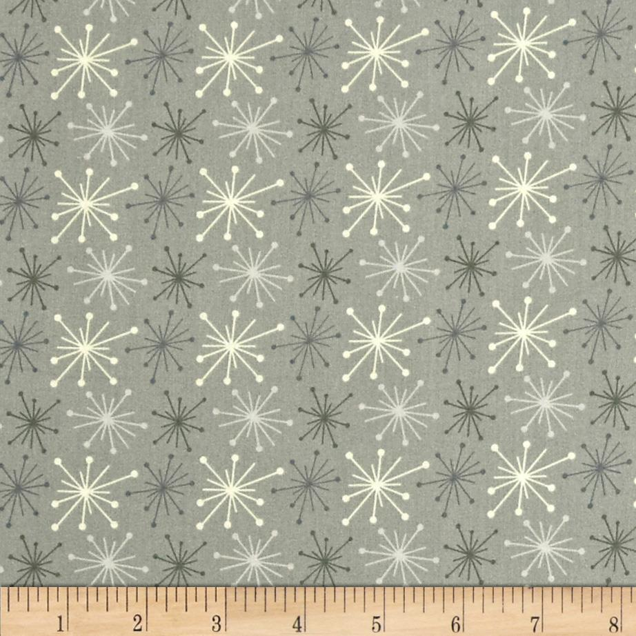 Color Love Star Burst Grey