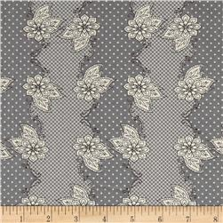Art Gallery Lilly Belle Henna Stripe Grey