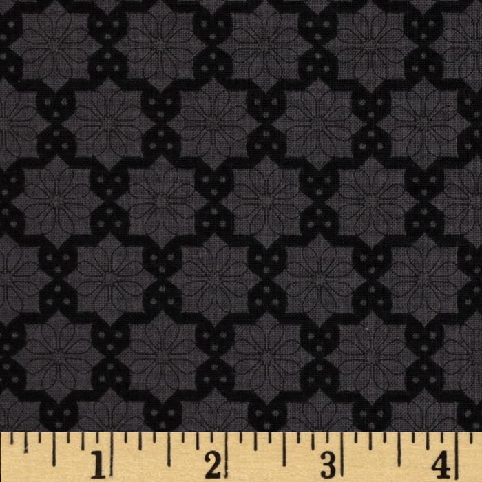 The Color Collection Daisy Plaid Black