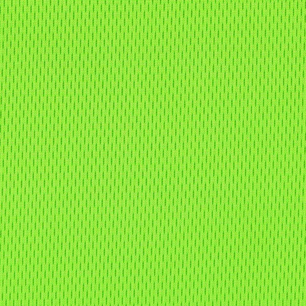 Nylon Athletic Pique Knit Neon Green