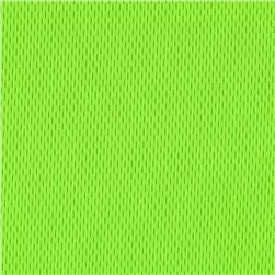 Nylon Athletic Pique Knit Neon Green Fabric