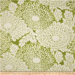 Home Accents Imari Slub Green Tea Fabric